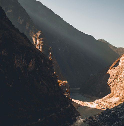 Der Tiger Leaping Gorge in China